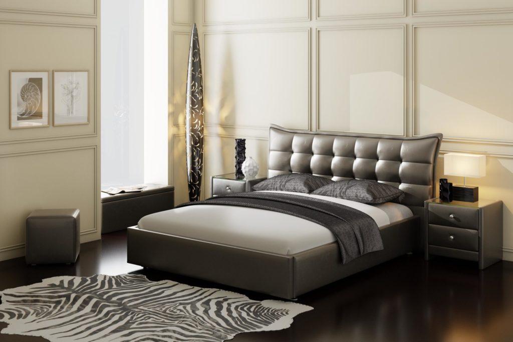 Двуспальная кровать Агата