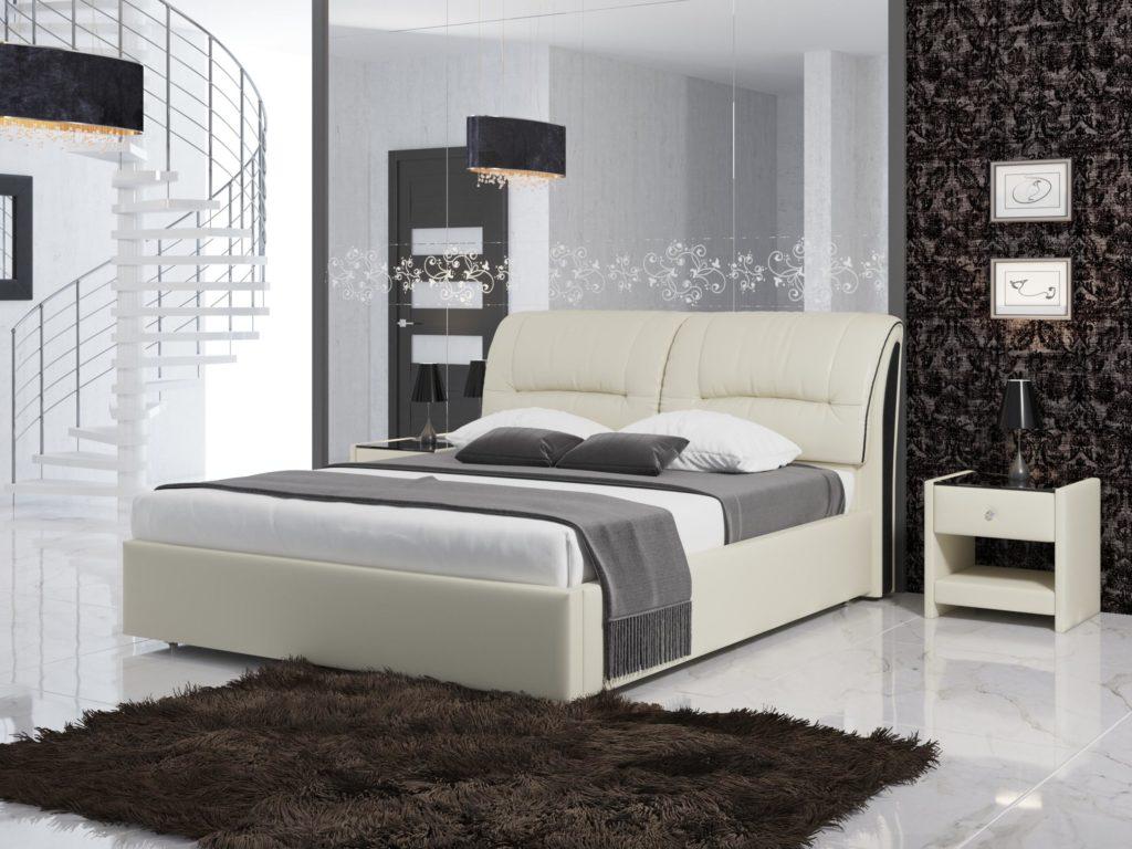 Двуспальная кровать Белла