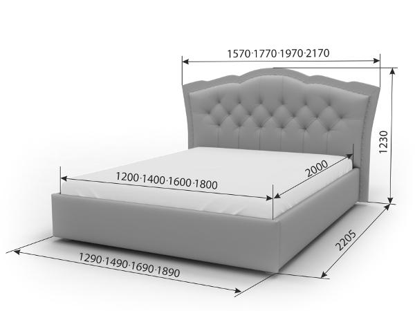 Двуспальная кровать Изабелла
