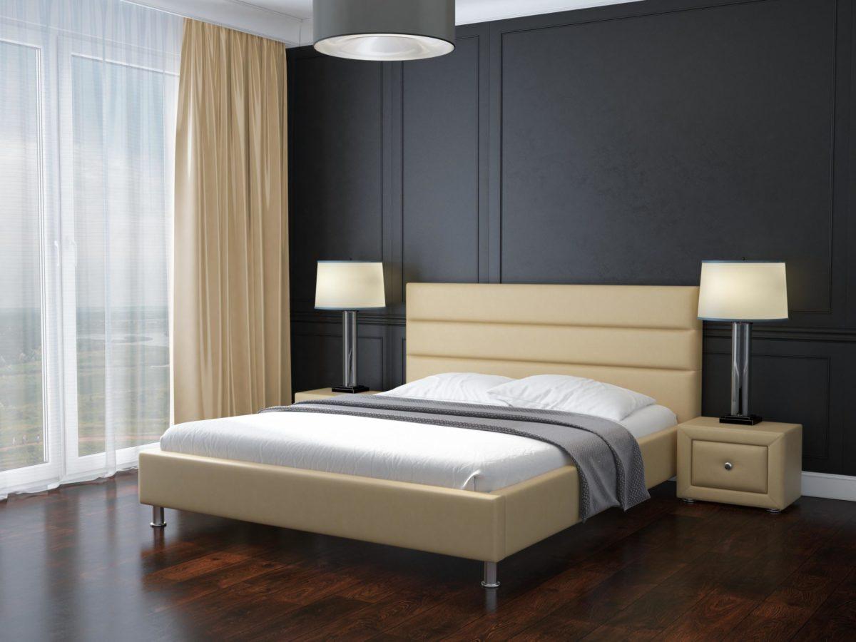 Двуспальная кровать Сандра